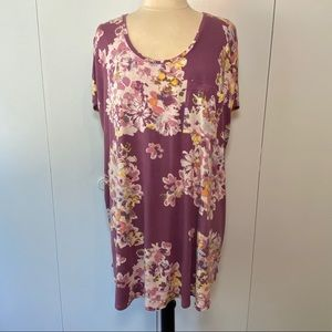 Maurices 24/7 Floral Tunic
